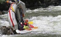 Рафтинг спускане по река Струма