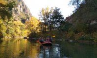 Рафтинг по Струма през октомври