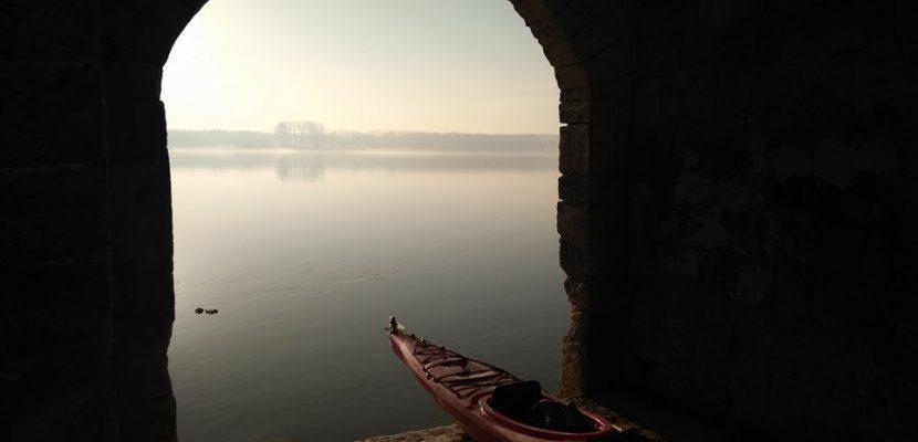 Winter Danube kayaking