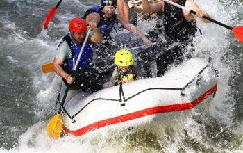 Rafting on Struma river
