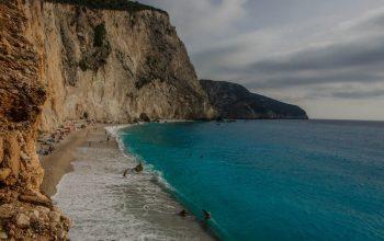 Kayaking trip with a SUP on Lefkada island