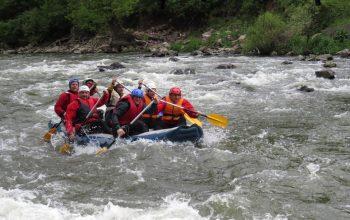 Rafting on Iskar river