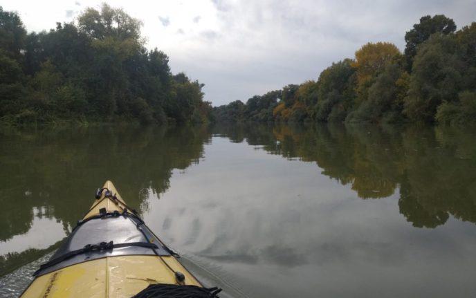 С каяк по река Дунав