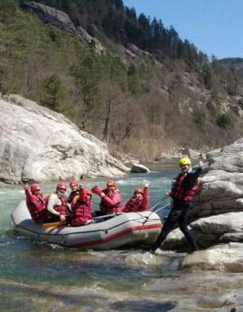 Видео от рафтинга по река Арда – ден 1